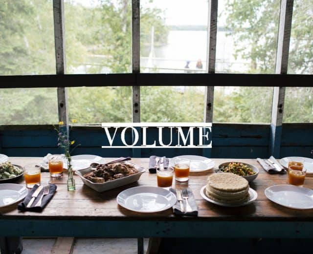 Volumn Cookbook